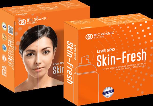 Xịt lợi khuẩn trị mụn Skin fresh - hinh 04