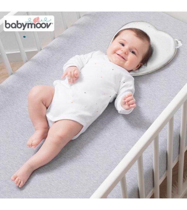 Gối chống bẹt đầu Babymoov (Trắng) - hinh 04