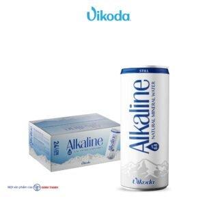 nước Khoáng Thiên Nhiên Vikoda Alkaline lon - hinh 01