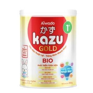 Sữa bột Aiwado KAZU BIO GOLD 1+ lon 350g